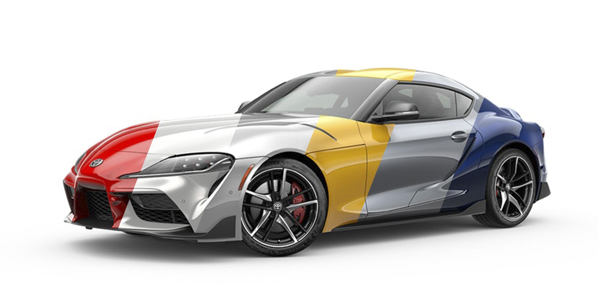 See the 2020 Toyota Supra in Each of Its Eight Exterior Colors