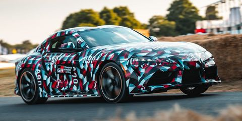 Toyota Will Build a Four-Cylinder Supra