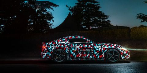 Toyota Is Benchmarking The Supra Against The Porsche Cayman - Goodwood hardware car show