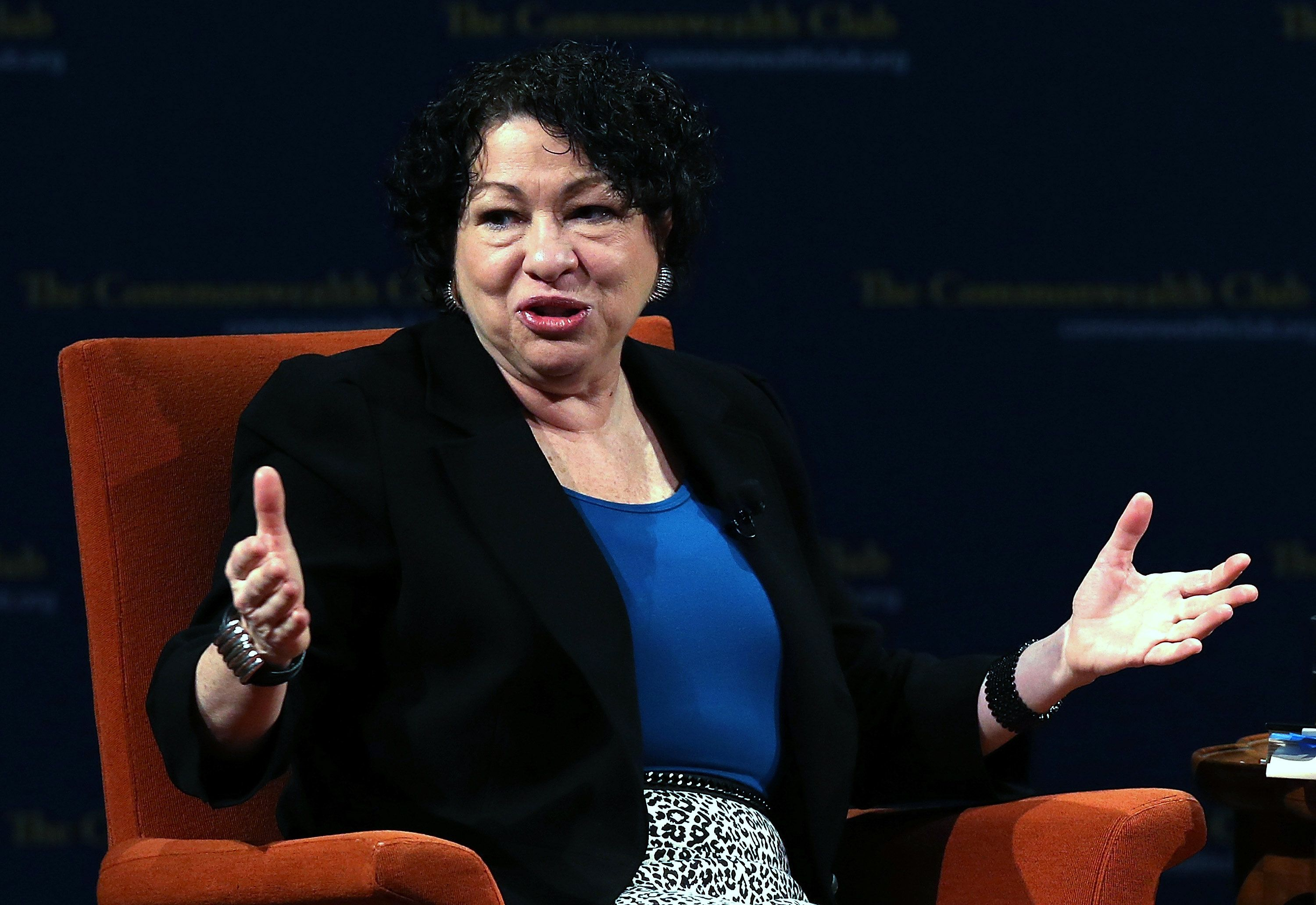 Sonia Sotomayor Called Out Supreme Court Conservatives for Their Pro-Trump Bias