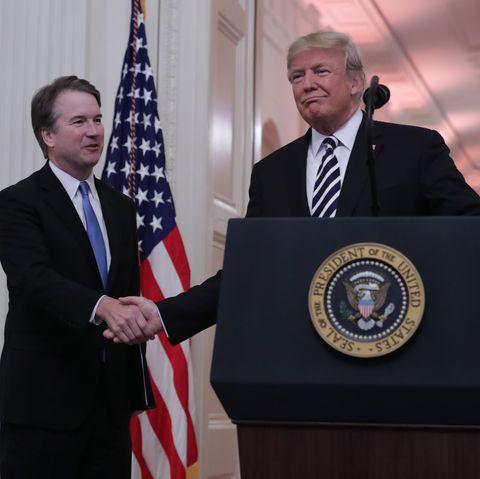 Brett Kavanaugh Sworn In As 114th Supreme Court Justice