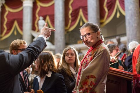 us supreme court women justices are honored on capitol hill for women's history month