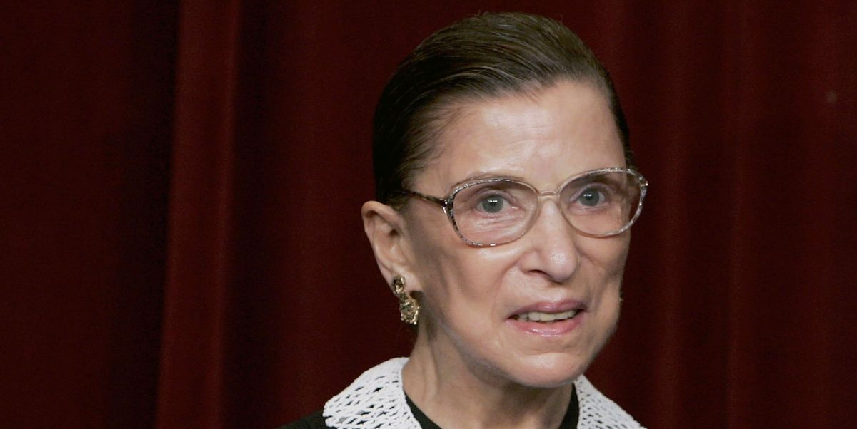 Ruth Bader Ginsburg Wrote One Last Book, and It's Coming Out Soon