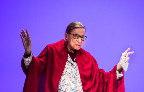 Ruth Bader Ginsburg Speaks At Amherst College