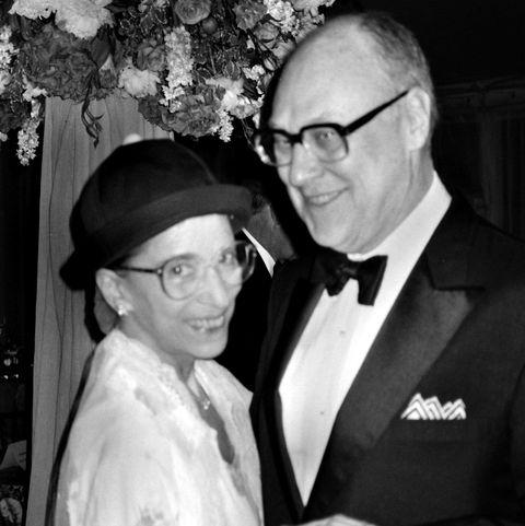 supreme court justice ruth bader ginsburg with husband martin ginsburg