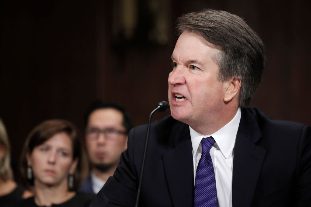 Image result for brett kavanaugh anger