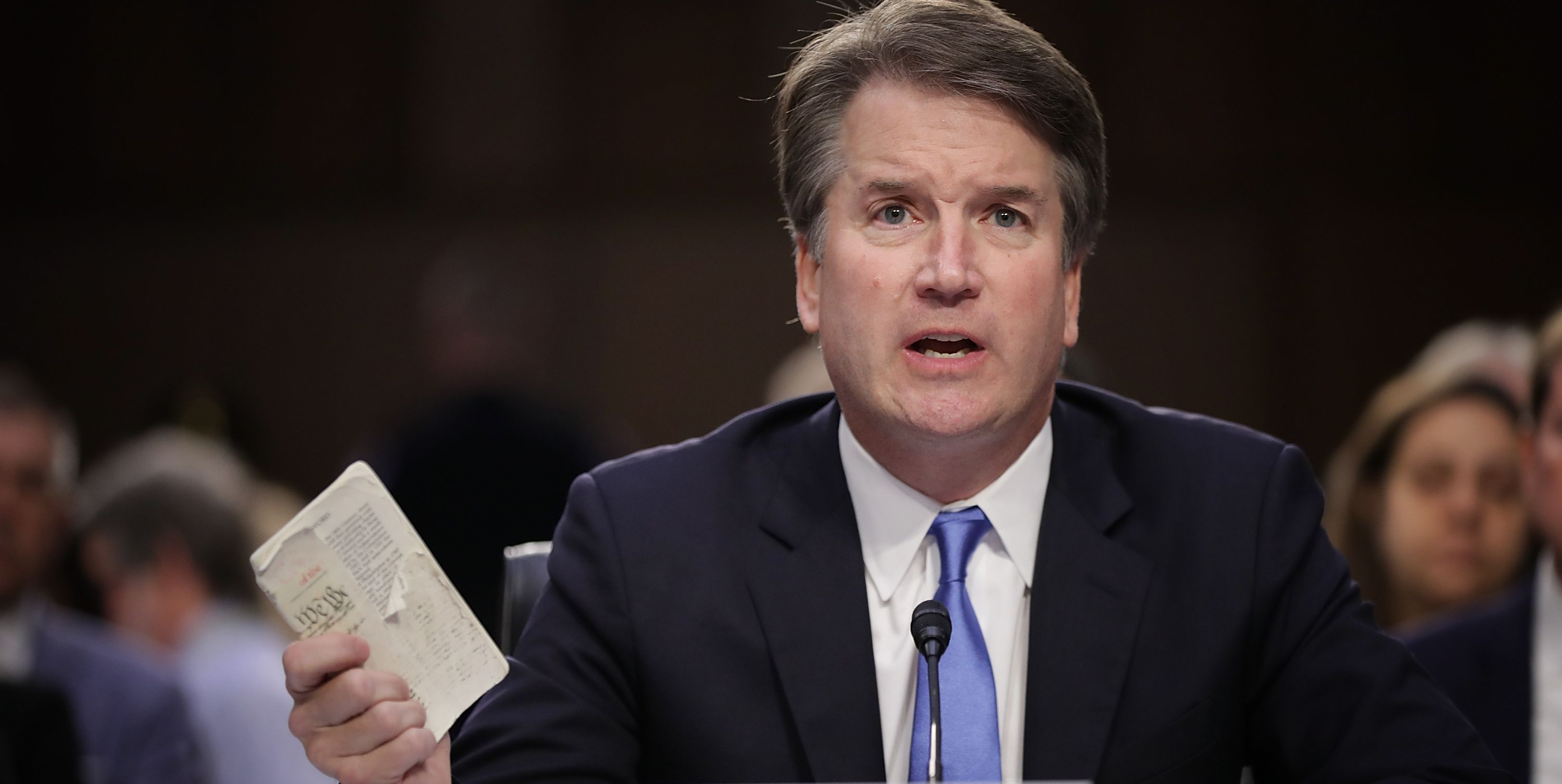 Senate Holds Confirmation Hearing For Brett Kavanaugh To Be Supreme Court Justice