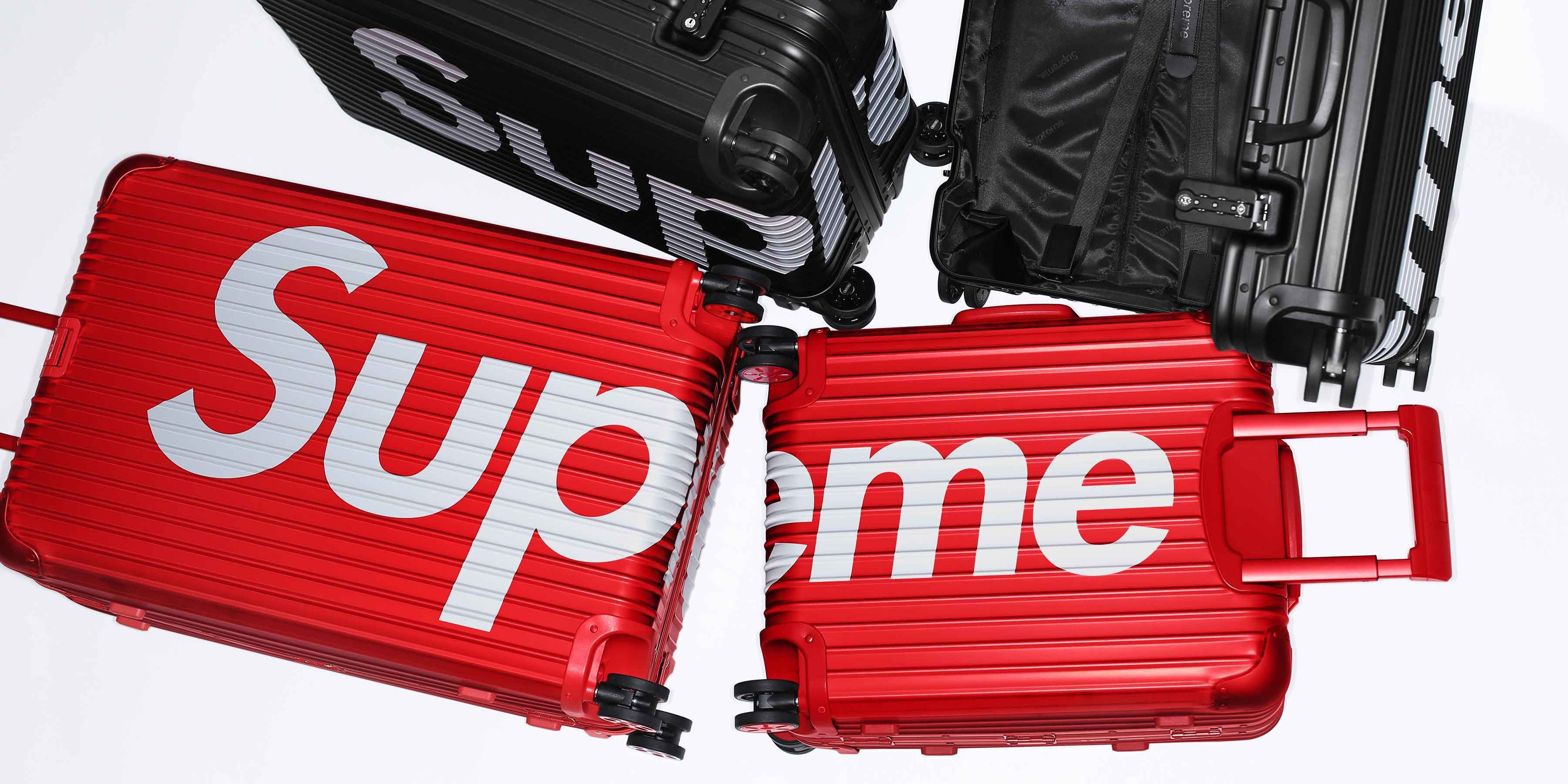 Supreme,RIMOWA, 聯名行李箱
