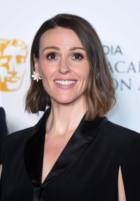 london, england   may 12 suranne jones poses in the press room at the virgin tv bafta television award at the royal festival hall on may 12, 2019 in london, england photo by karwai tangwireimage