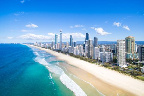 best beaches in the world - surfers paradise australia