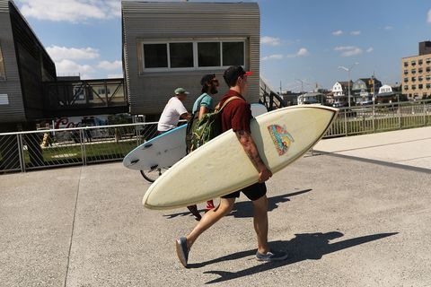 New Yorkers Seek Relief As City Plunges Into Long Heat Wave