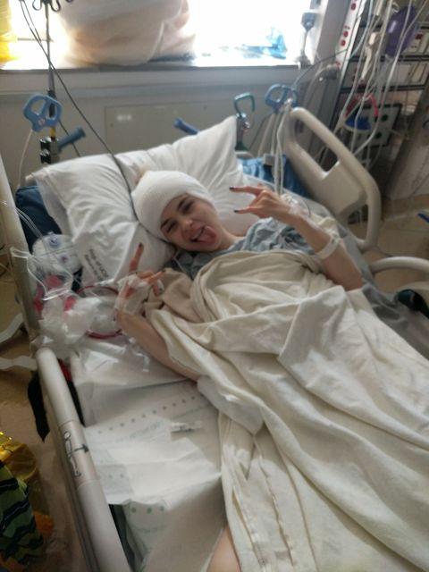 anastasia golovashkina brain surgery