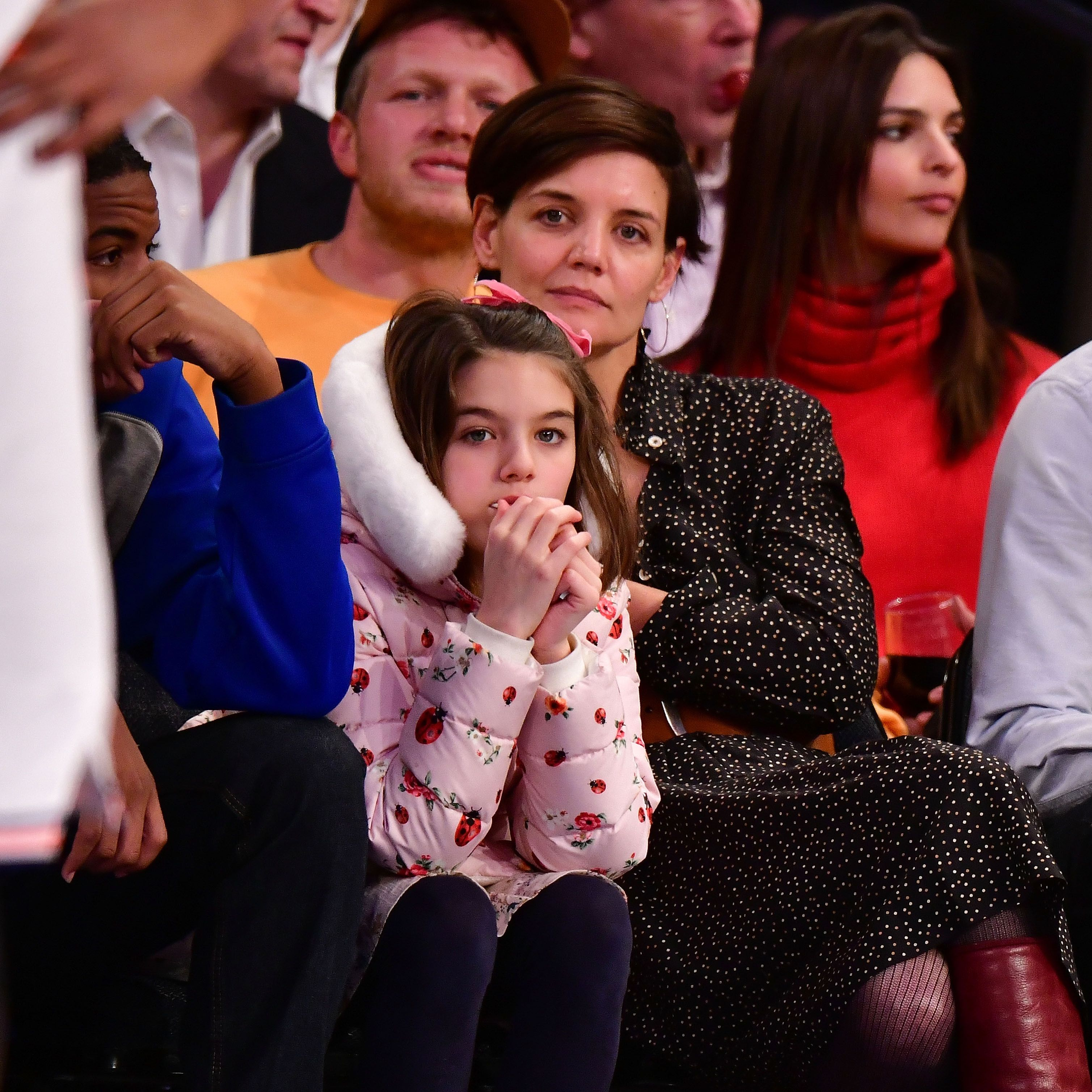 Suri Cruise Makes a Rare Appearance on Katie Holmes's Instagram