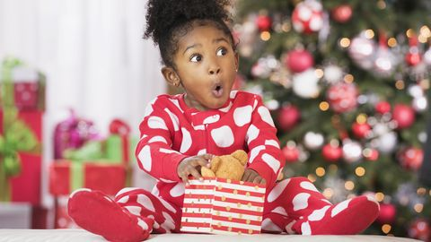 Image result for image of black excited kids unwrapping gifts