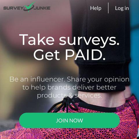 surveys to make money - survey junkie