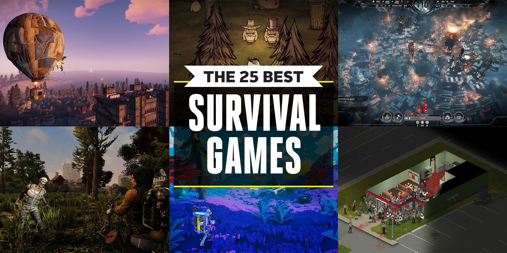 The 25 Best Survival Games
