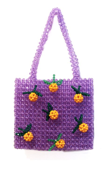 Susan Alexandra clem beaded bag