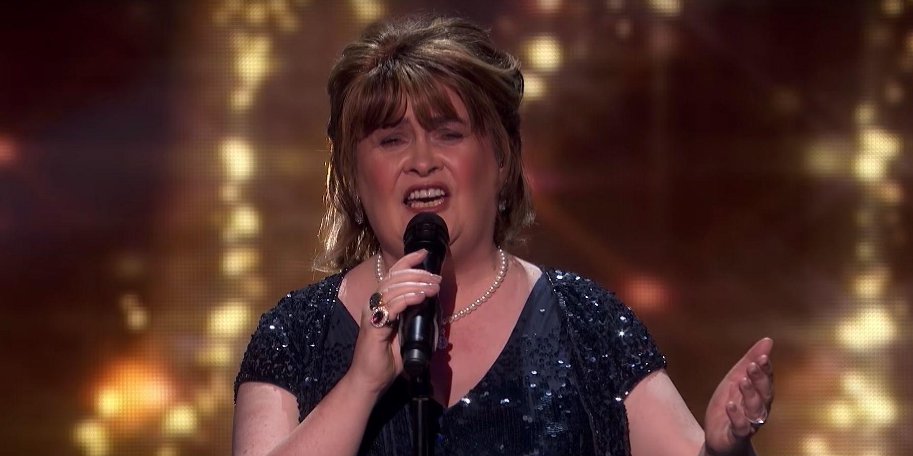 Susan Boyle on America's Got Talent: The Champions