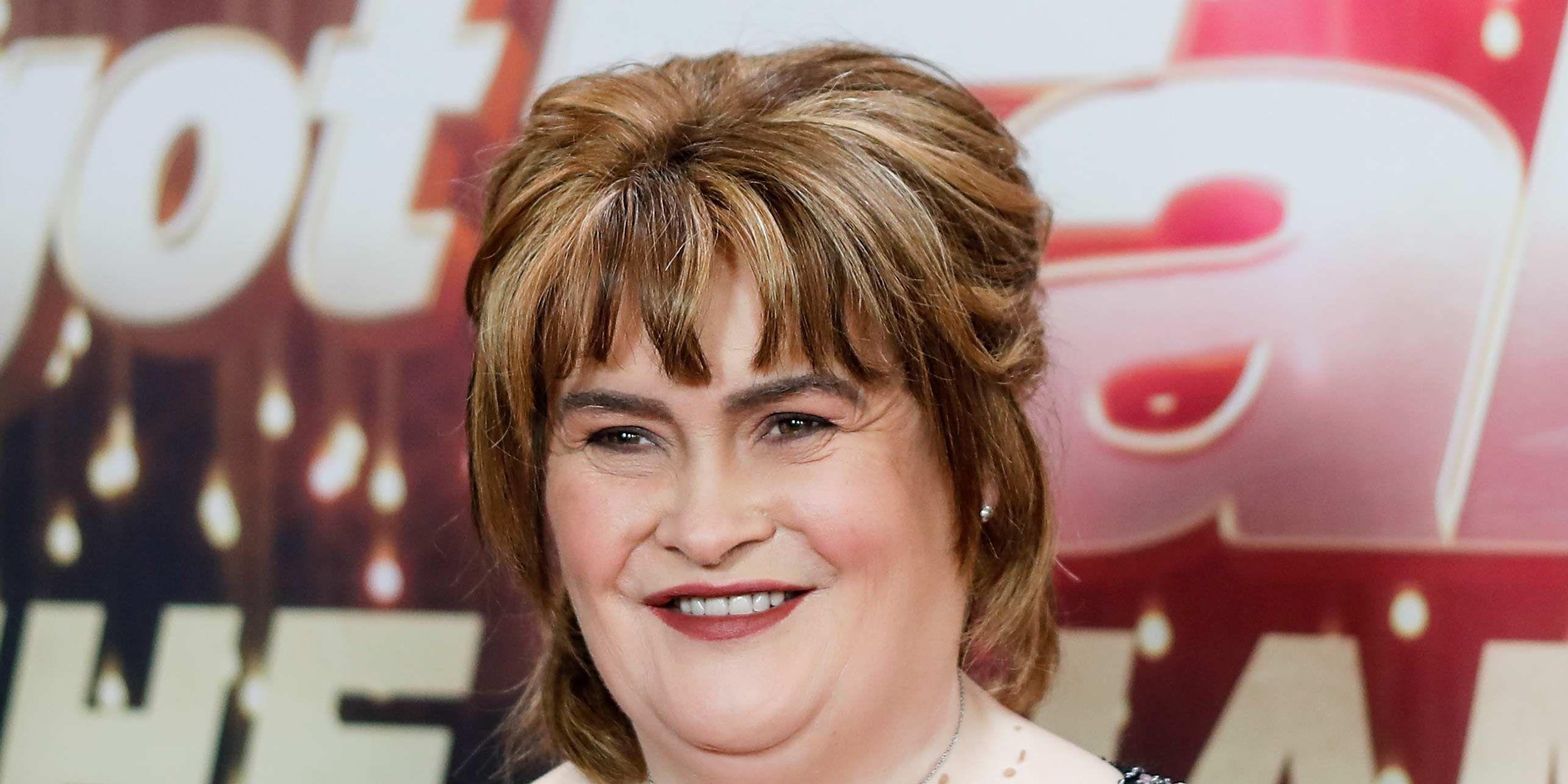 Susan Boyle at the America's Got Talent Champion Finale