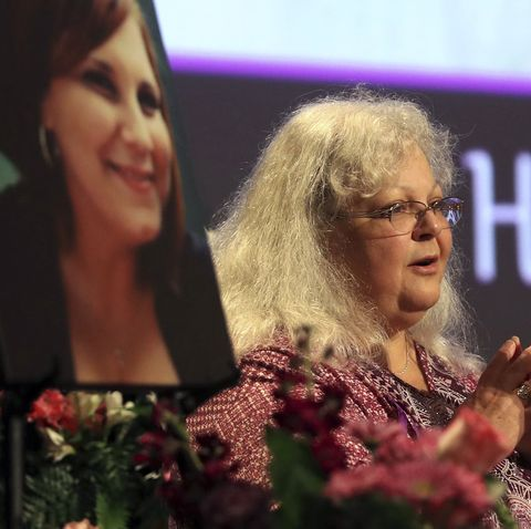Memorial Held In Charlottesville For Heather Heyer, Victim Of Car Ramming Incident During Protest After White Supremacists' Rally