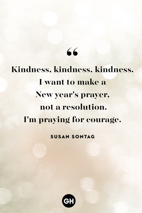 sustan sontag — new years eve quotes