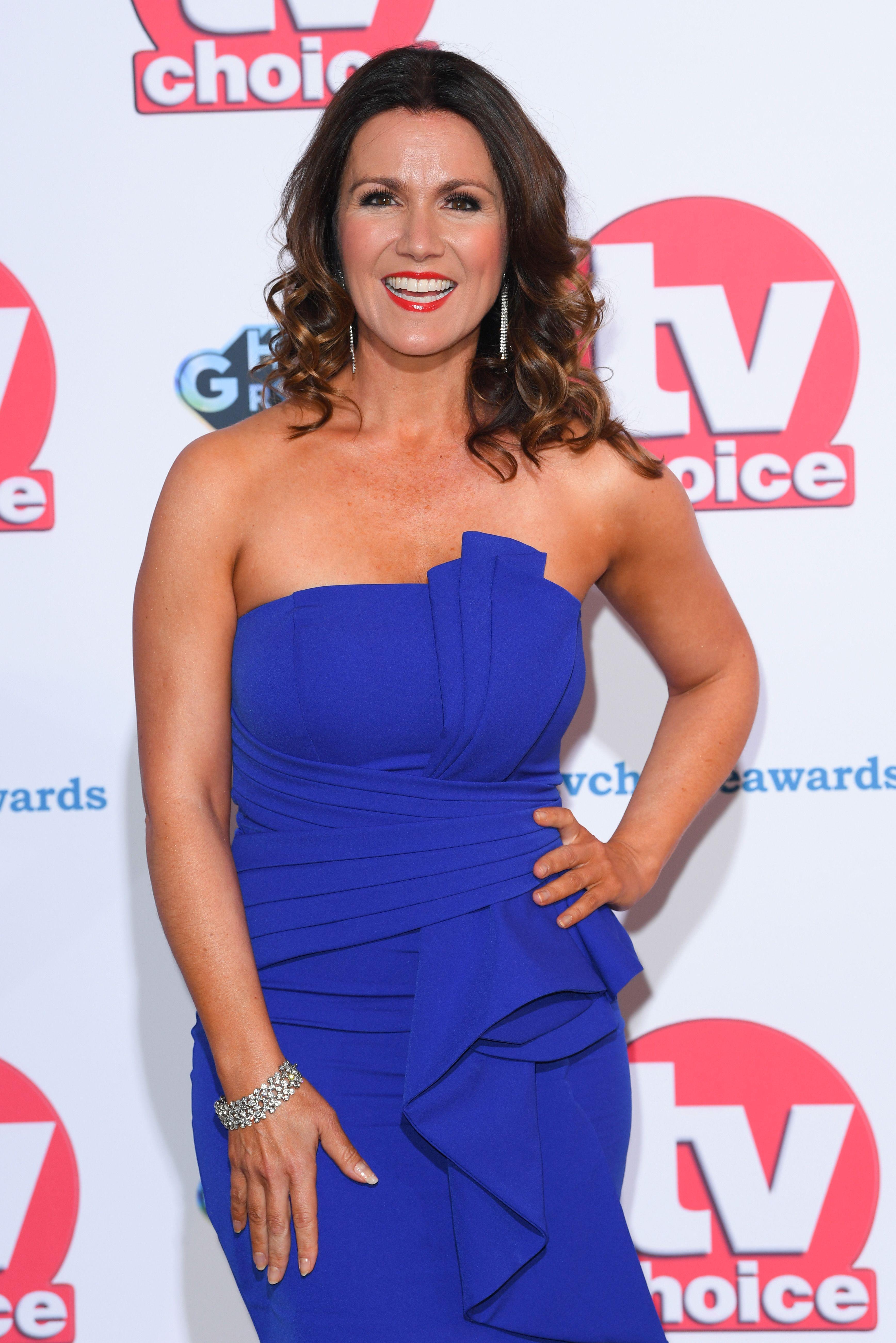 Susanna Reid wows in £39 high street dress at TV Choice Awards