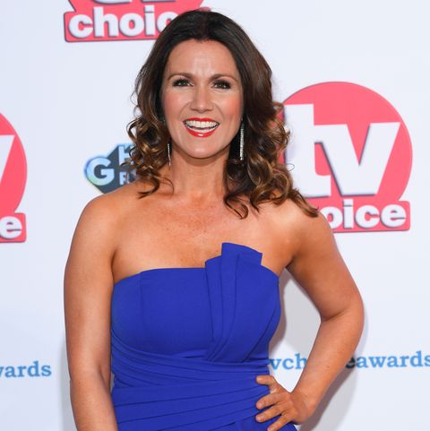 Susanna Reid wows in perfect red dress