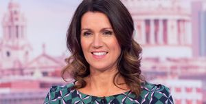 Susanna Reid brightens up the morning in stunning geometric dress