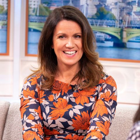 susanna reid just wore the perfect wedding guest dress for autumn