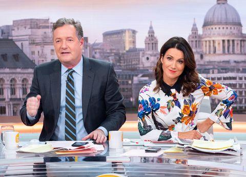 'Good Morning Britain' TV show, London, UK - 20 Nov 2018