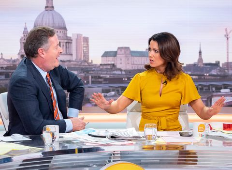 'Good Morning Britain' TV show, London, UK - 28 Nov 2018