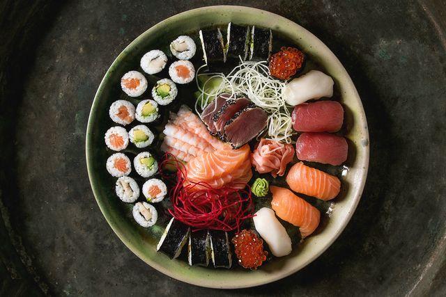 sushi y sashimi