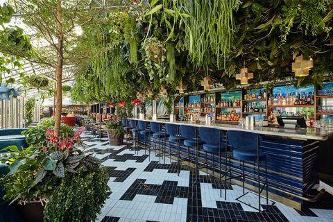 Building, Botany, Architecture, Tree, Leisure, Botanical garden, Plant, Garden, Mixed-use, Courtyard,