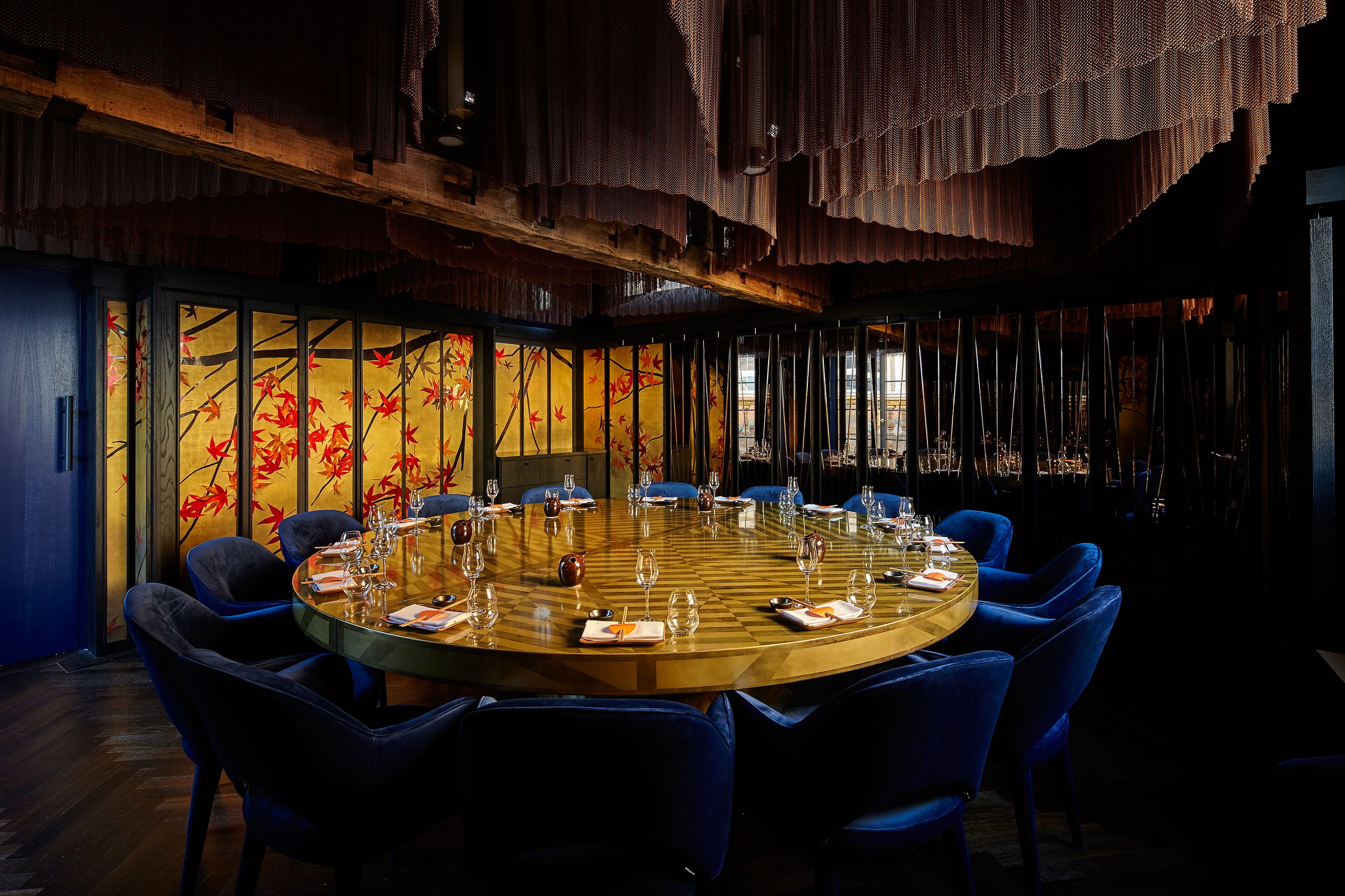 SushiSamba Covent Garden Private Dining Room