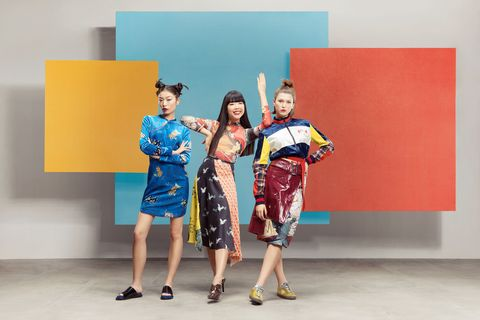 Susie Bubble - celebrating Chinese Fashion at Bicester Village