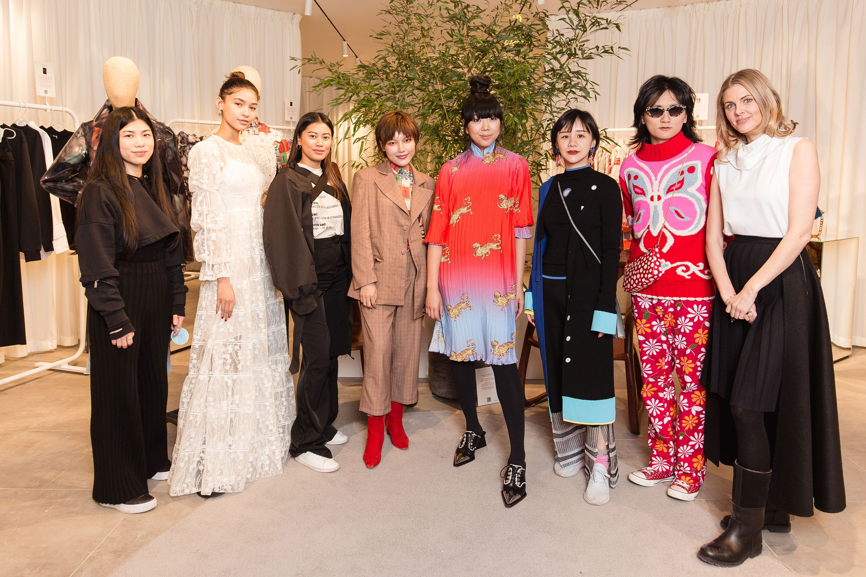 Chinese fashion pop-up at Bicester Village
