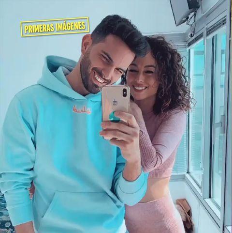 suso, primeras fotos con su nueva novia, amanda