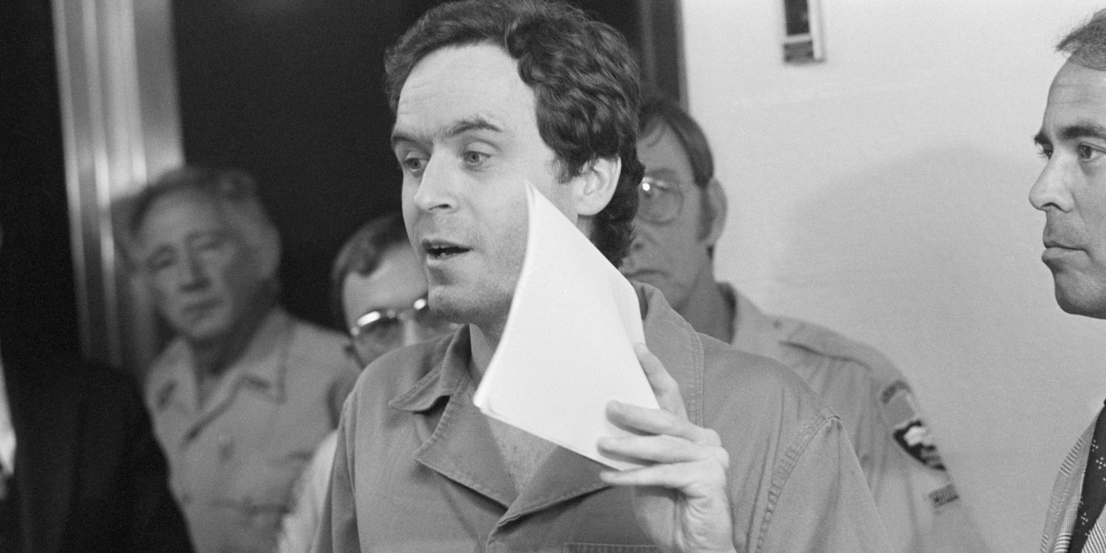 Ted Bundy Close Up