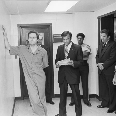 Ted Bundy In Police Station