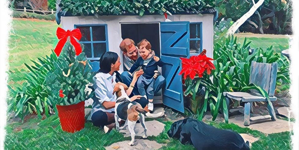 Check out Meghan Markle, Prince Harry and Archie 2020 Christmas card