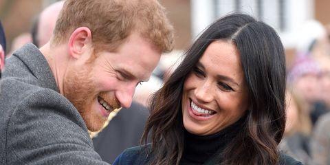 El príncipe Harry y Meghan Markle, en una foto de archivo.