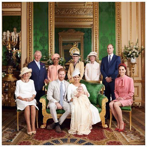 Familia Real Bautizo del Príncipe Archie
