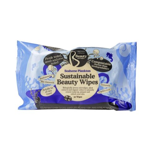 Biodegradable beauty wipes