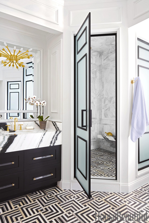 SuzAnn Kletzien Chicago Bathroom Shower