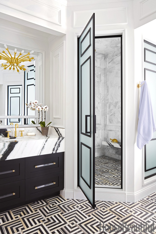 SuzAnn Kletzien Chicago bathroom shower & 60+ Best Bathroom Designs - Photos of Beautiful Bathroom Ideas to Try