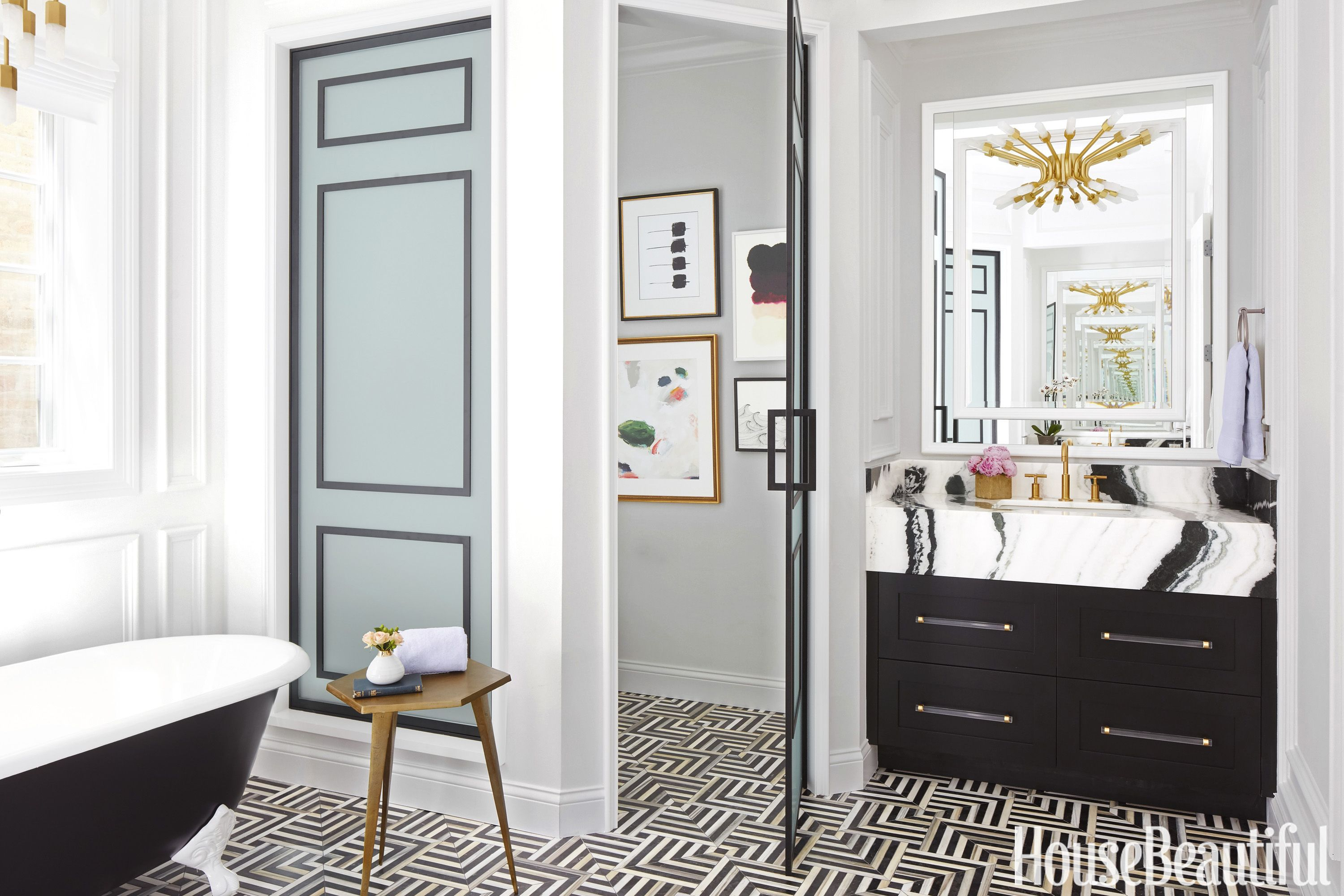 Suzann kletzien vanity in bathroom there is such a