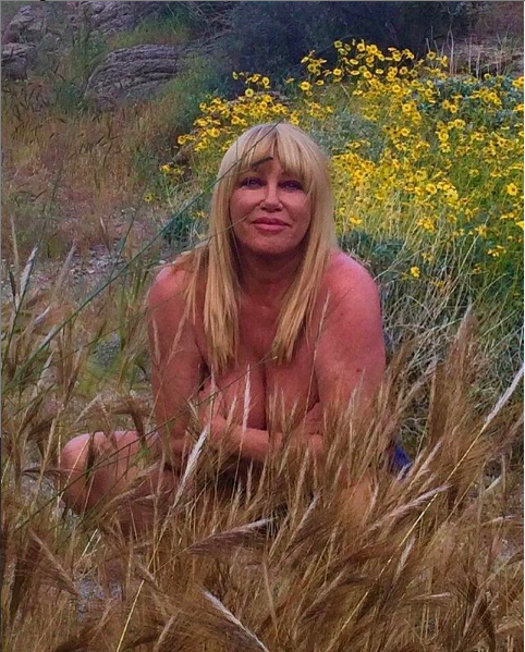 Suzanne Somers, 73, Posts Naked 'Birthday Suit' Photo To Instagram