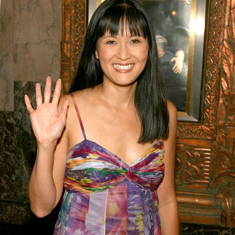 """Suzanne Whang, host of House Hunters, at""""Dirty Rotten Scoundrels"""" Los Angeles Premiere Performance - Arrivals"""