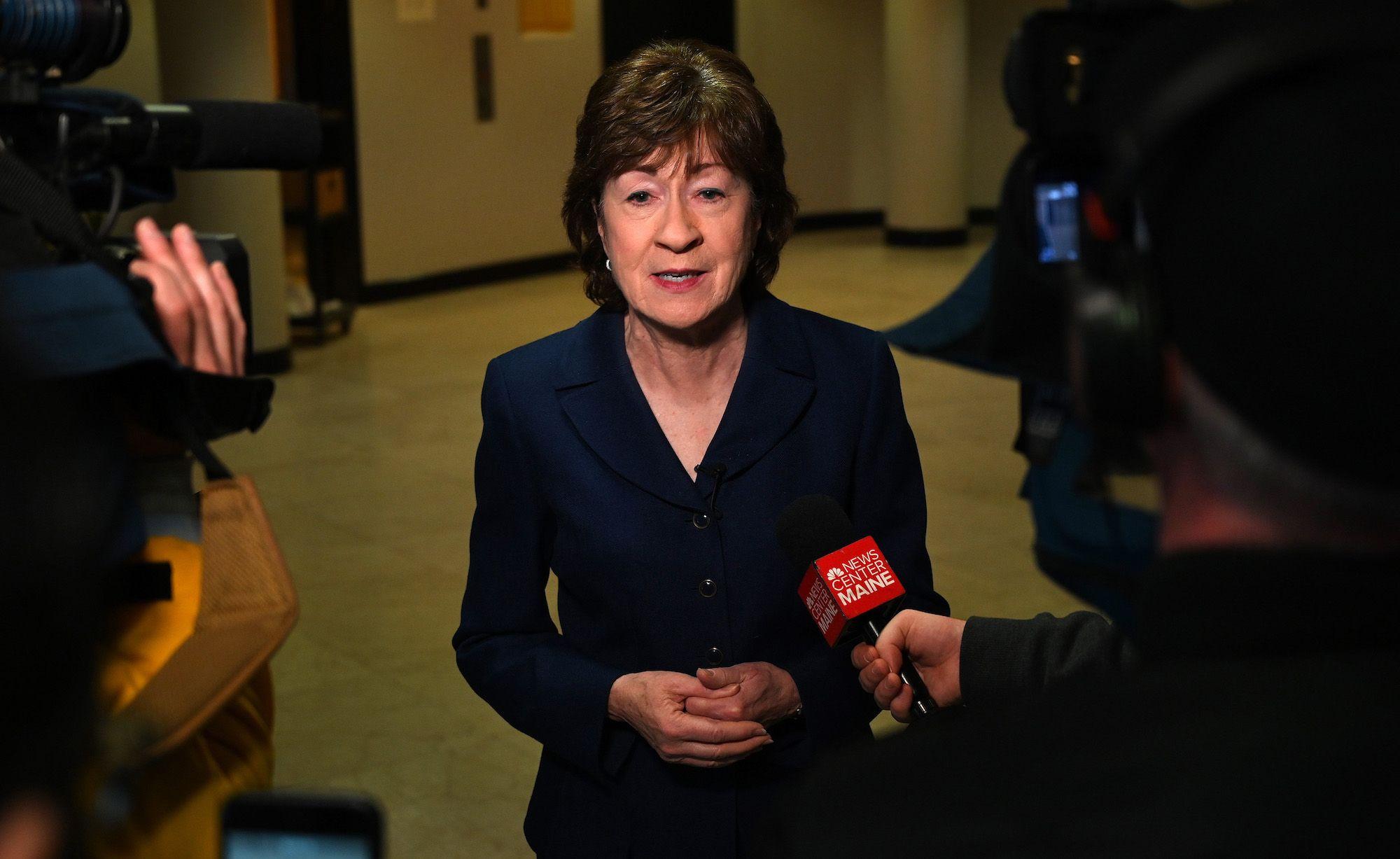 Susan Collins Is a Ridiculous Politician