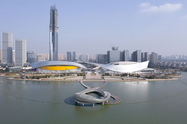 centro cultural de suzhou de christian de portzamparc